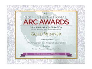 ARC Awards International 2014 – World's Best Annual Reports
