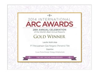 ARC Awards International 2014 – Cover Photo/Design Category