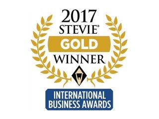 Gold Stevie Winner